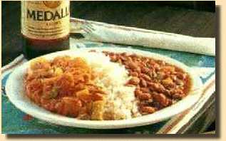 Typical Puerto Rican Meal